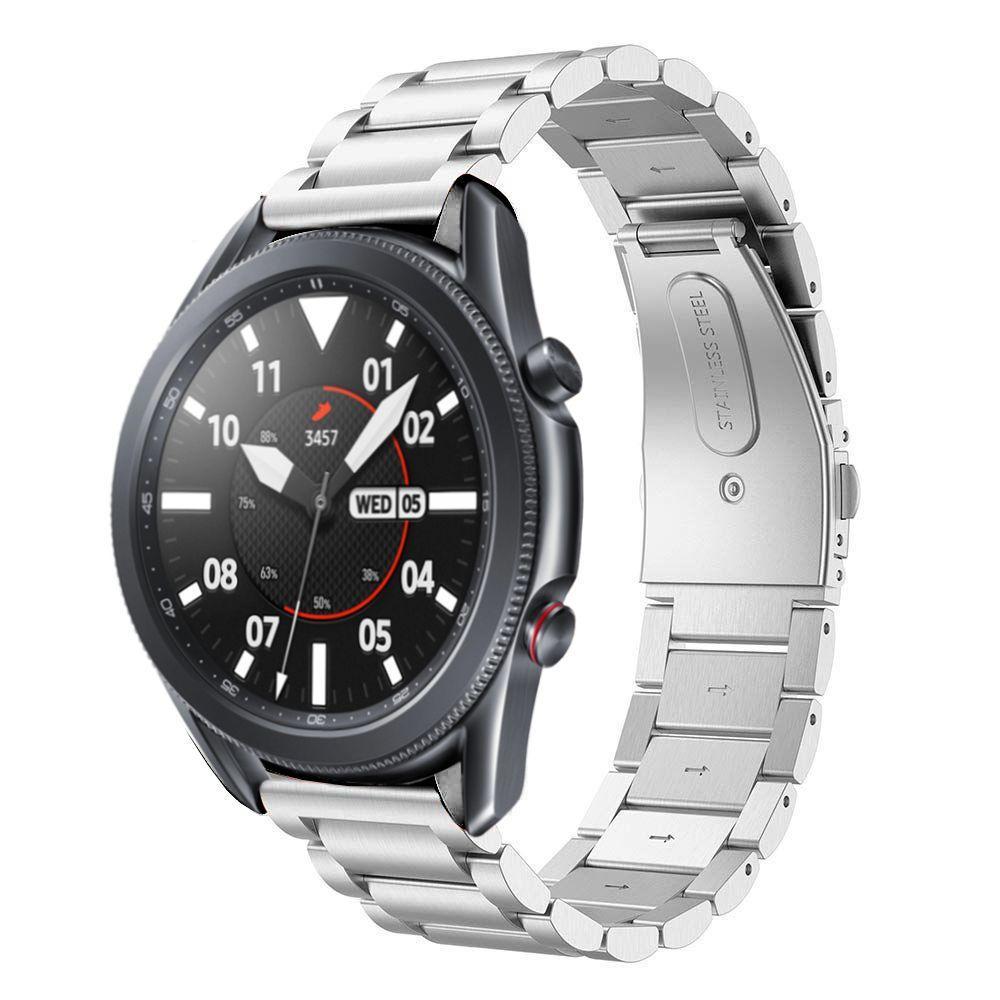 Metalliranneke Samsung Galaxy Watch 3 45mm hopea