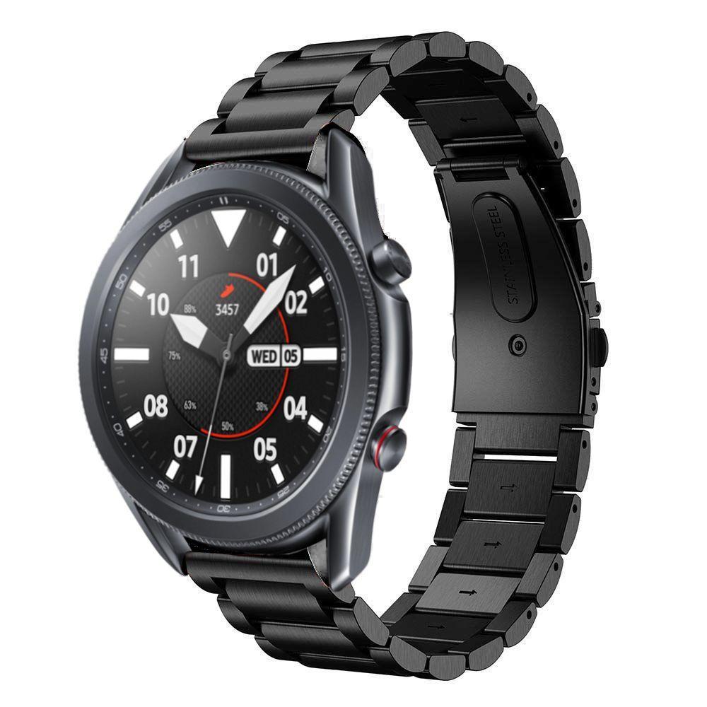 Metalliranneke Samsung Galaxy Watch 3 45mm musta