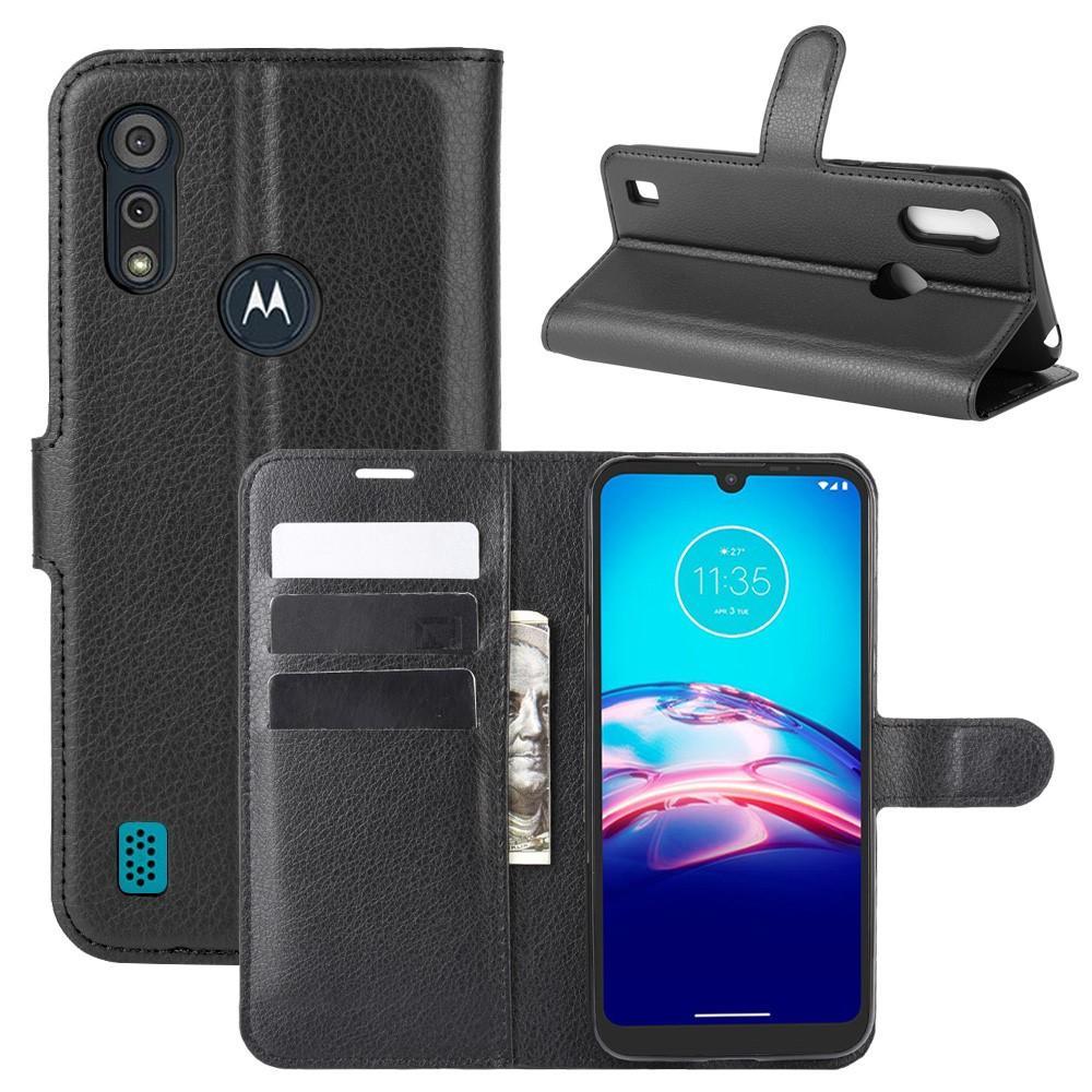 Suojakotelo Motorola Moto E6s musta