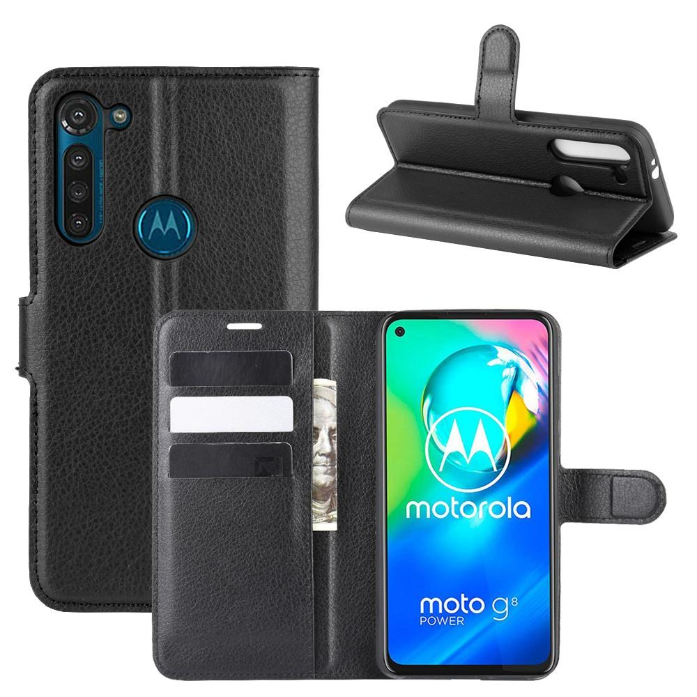 Suojakotelo Motorola Moto G8 Power musta