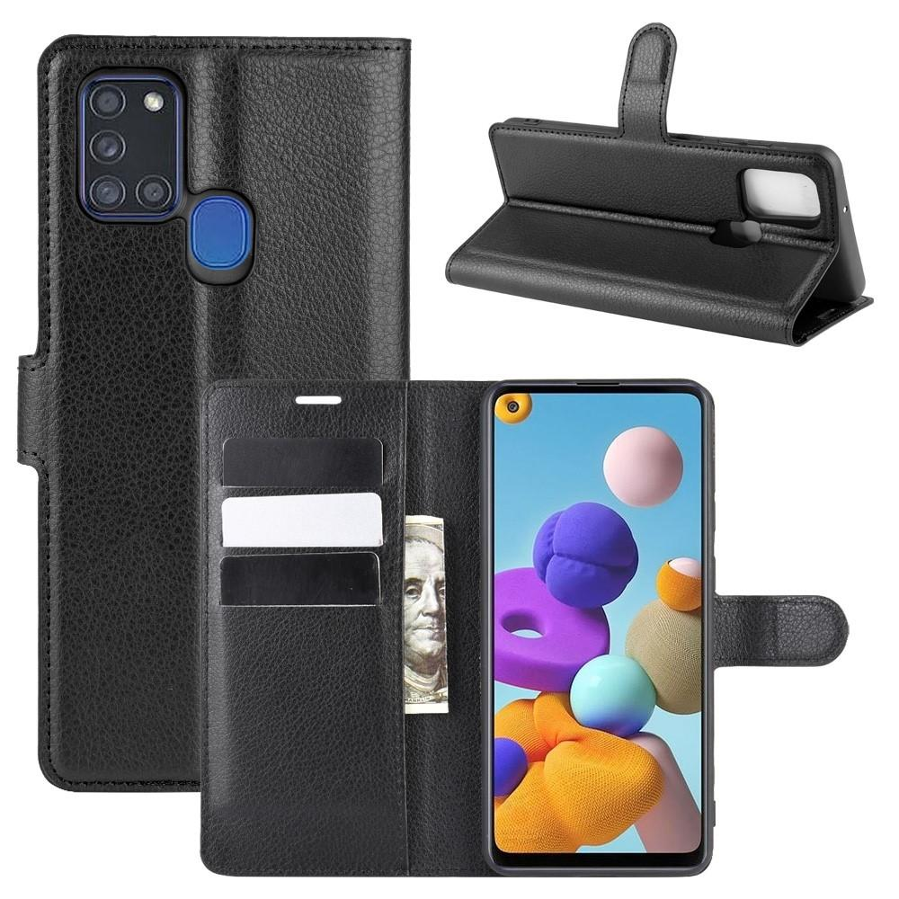Suojakotelo Samsung Galaxy A21s musta