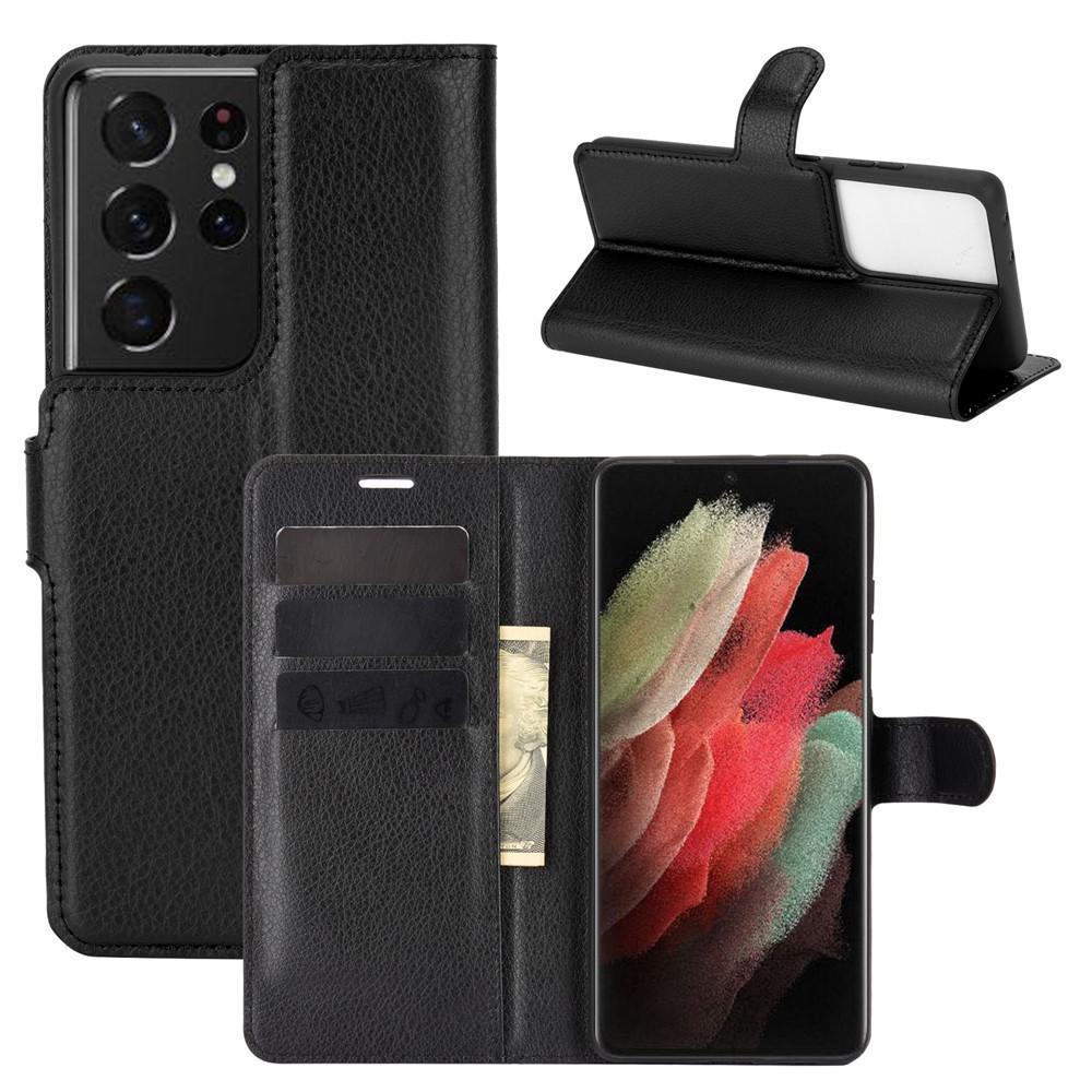 Suojakotelo Samsung Galaxy S21 Ultra musta