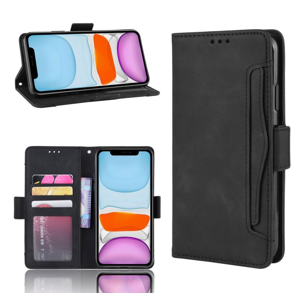 Multi Lompakkokotelo iPhone 12 Mini musta