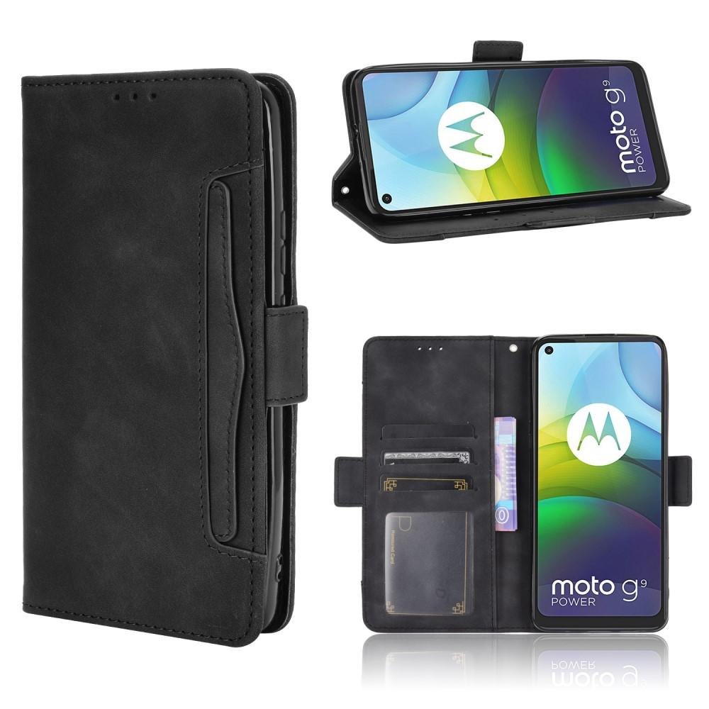 Multi Lompakkokotelo Motorola Moto G9 Power musta