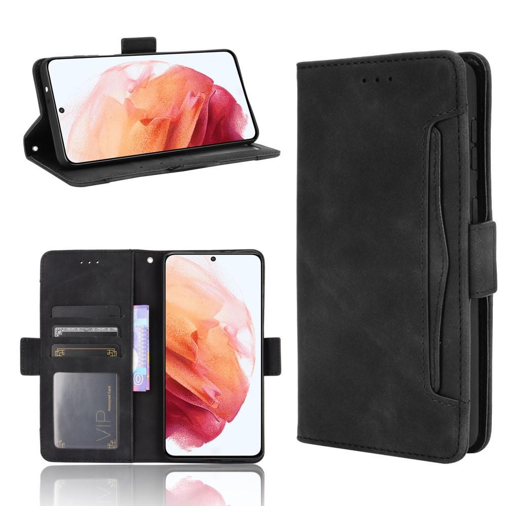 Multi Lompakkokotelo Samsung Galaxy S21 musta