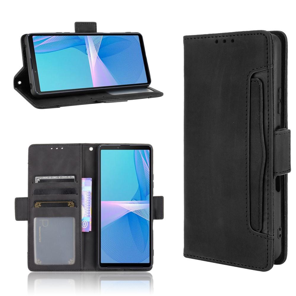 Multi Lompakkokotelo Sony Xperia 10 III musta