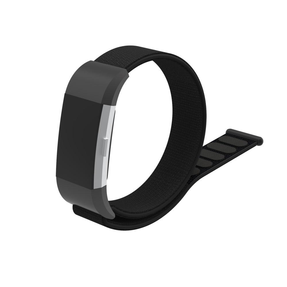 Nailonranneke Fitbit Charge 2 musta