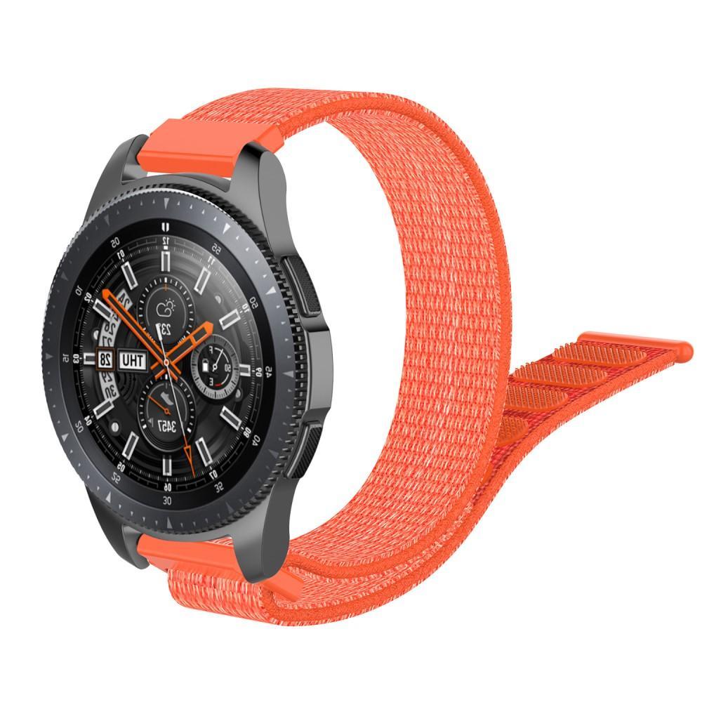 Nailonranneke Samsung Galaxy Watch 46mm/45mm oranssi