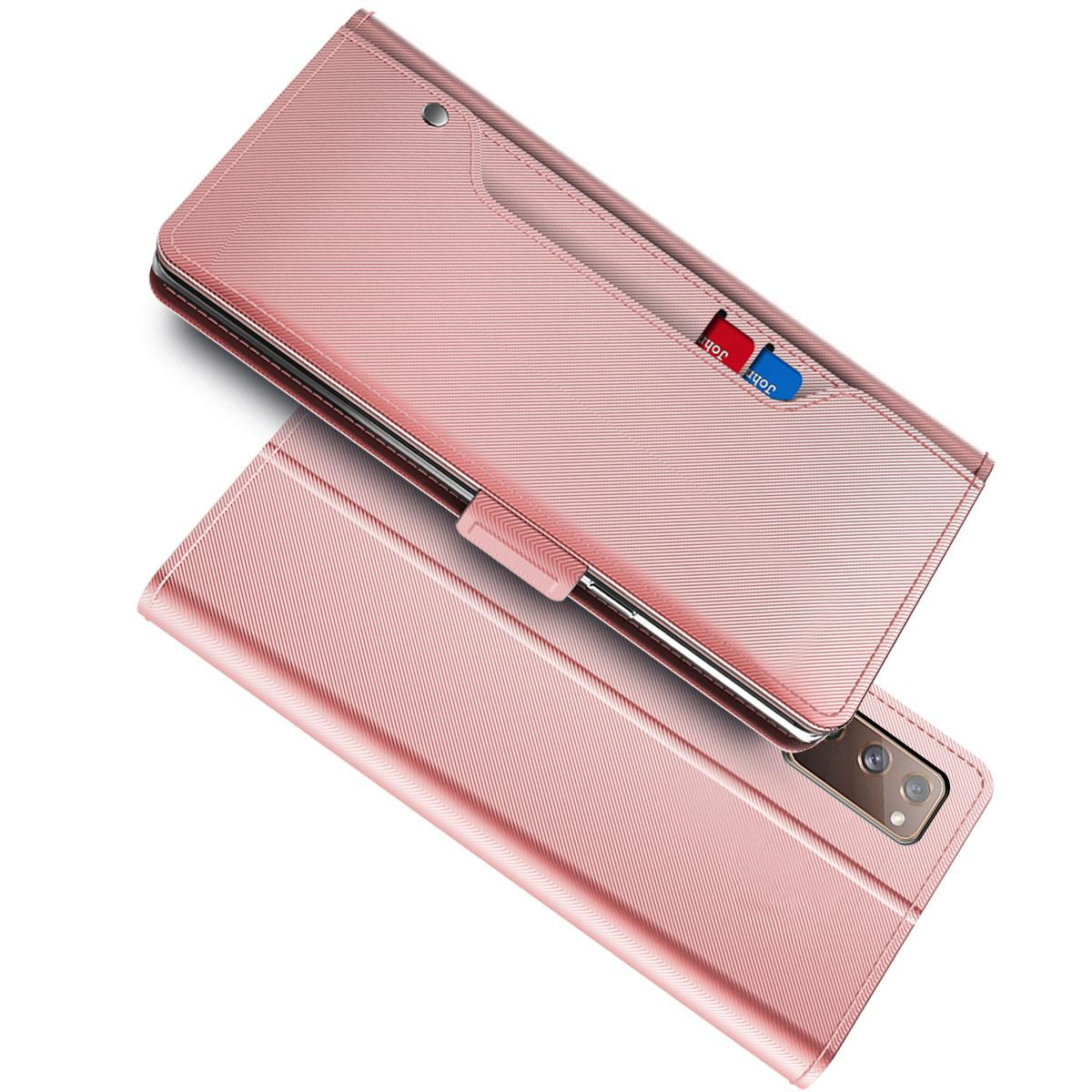 Suojakotelo Peili Galaxy A72 5G Vaaleanpunainen