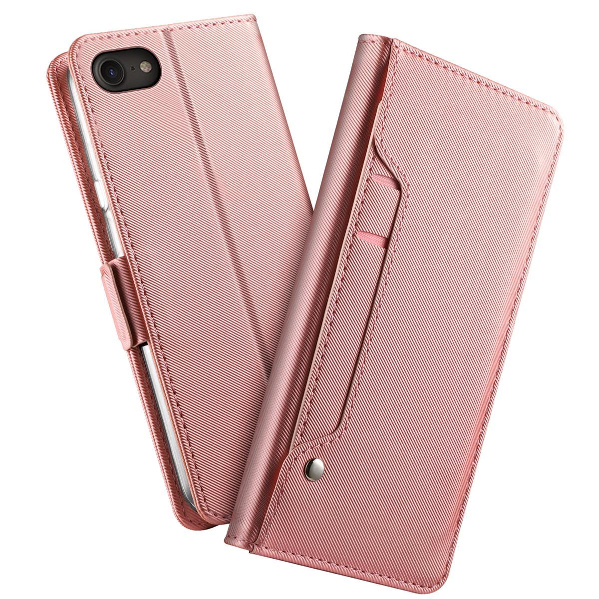 Suojakotelo Peili iPhone 7/8/SE 2020 Vaaleanpunainen