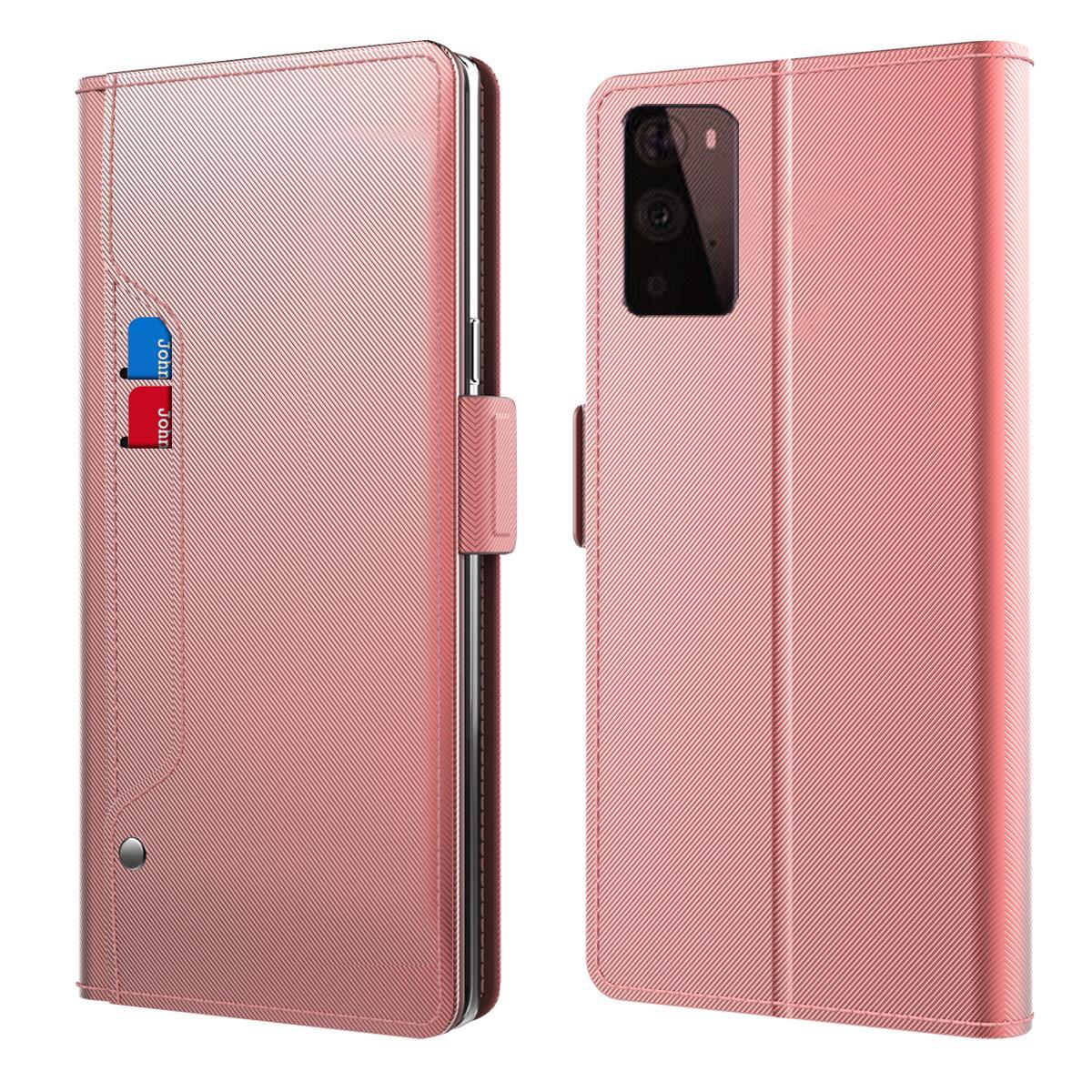 Suojakotelo Peili OnePlus 9 Pro Vaaleanpunainen
