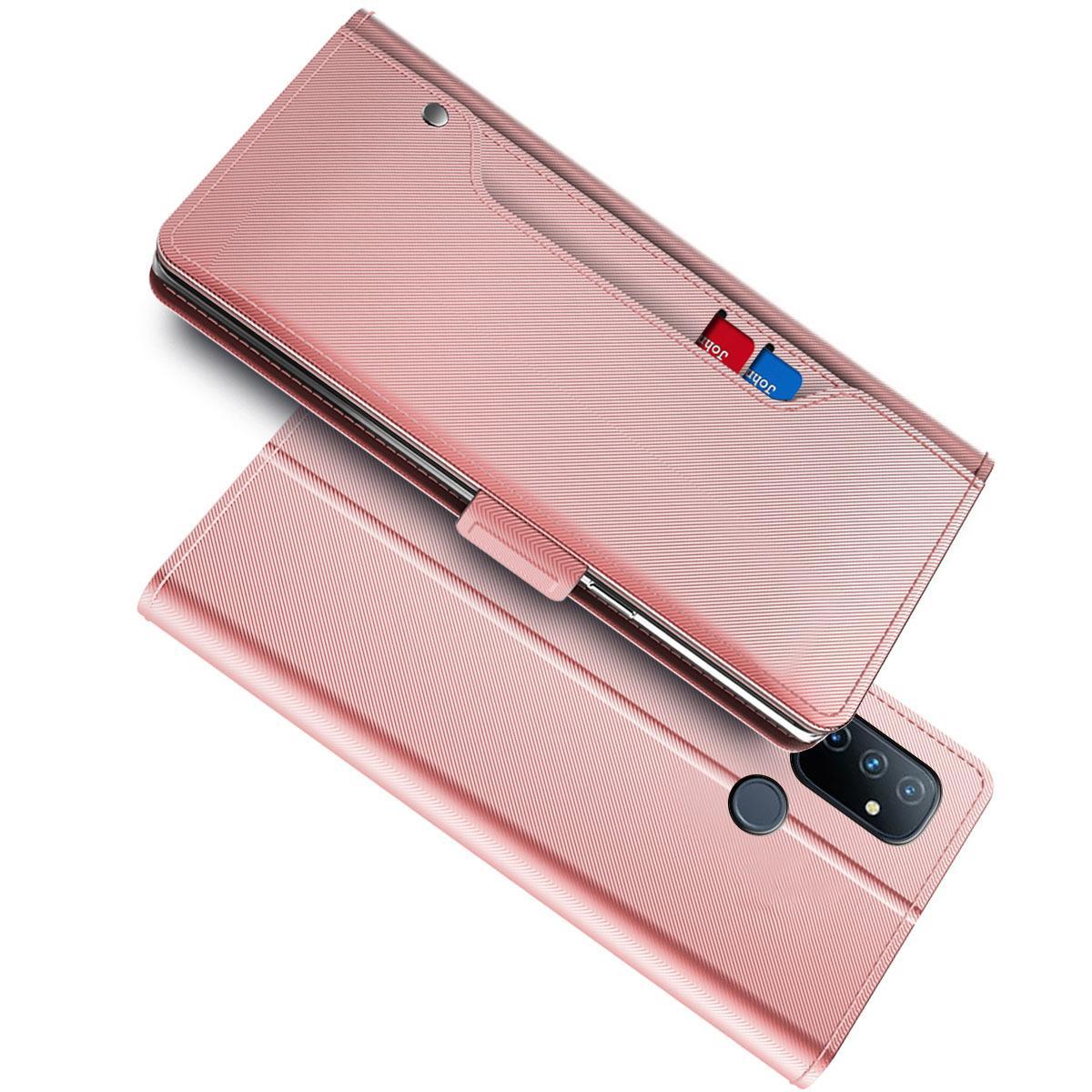 Suojakotelo Peili OnePlus Nord N100 Vaaleanpunainen