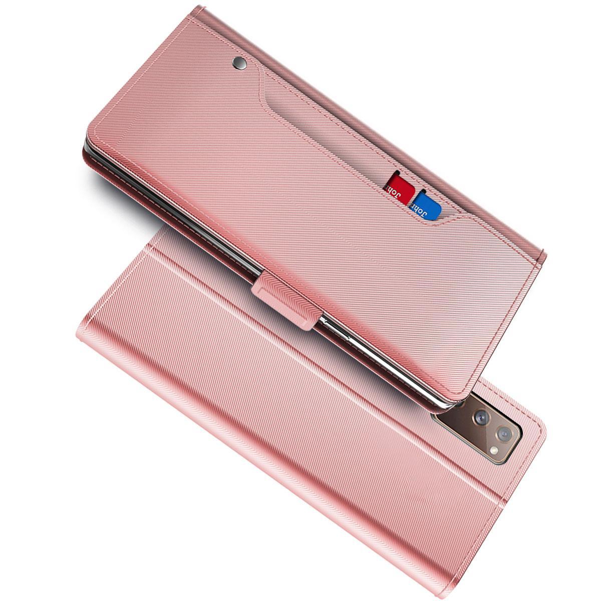 Suojakotelo Peili Samsung Galaxy S20 FE Vaaleanpunainen