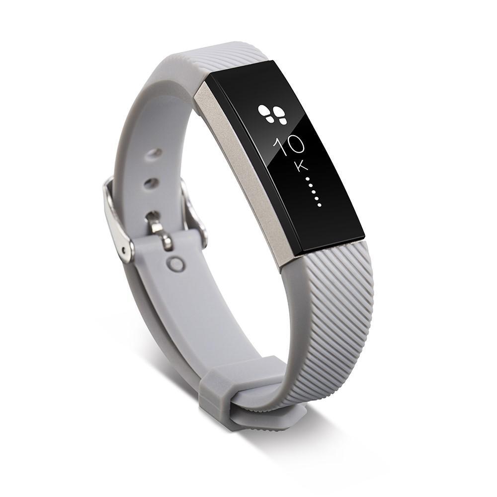 Silikoniranneke Fitbit Alta/Alta HR harmaa