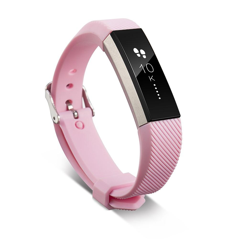 Silikoniranneke Fitbit Alta/Alta HR vaaleanpunainen
