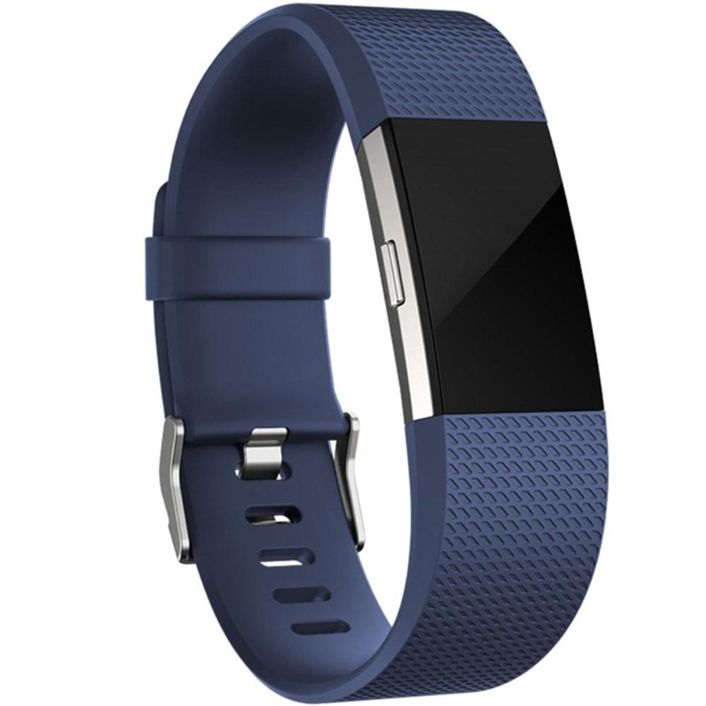 Silikoniranneke Fitbit Charge 2 sininen