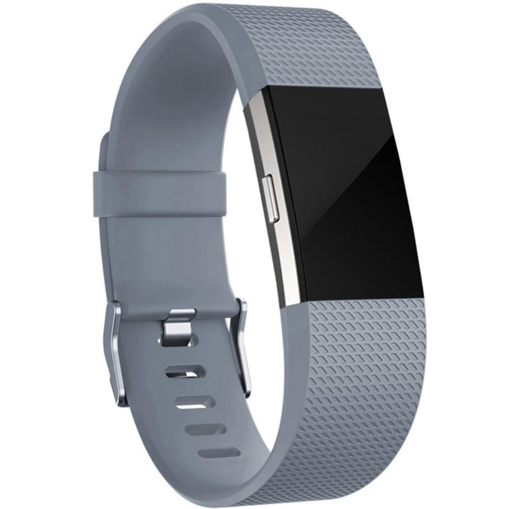 Silikoniranneke Fitbit Charge 2 harmaa