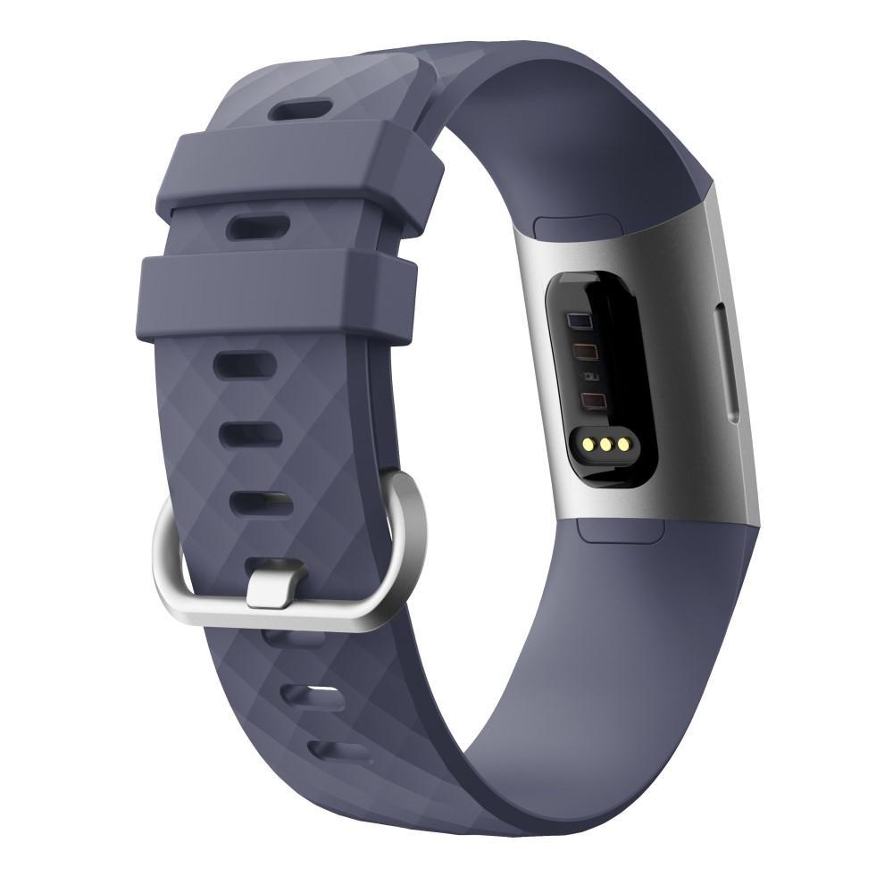 Silikoniranneke Fitbit Charge 3/4 liila