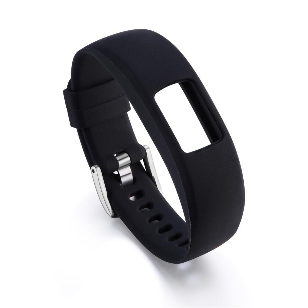 Silikoniranneke Garmin Vivofit 4 musta