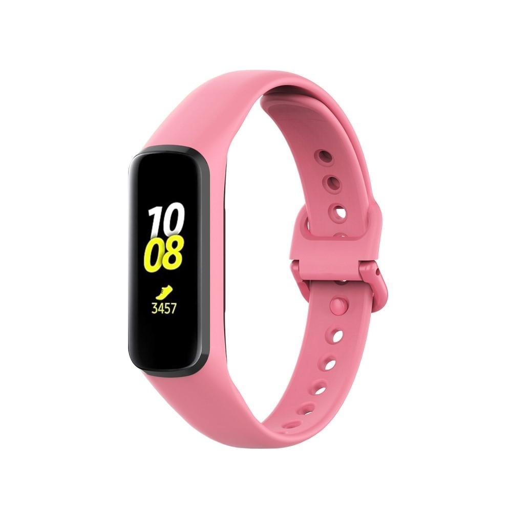 Silikoniranneke Samsung Galaxy Fit 2 vaaleanpunainen