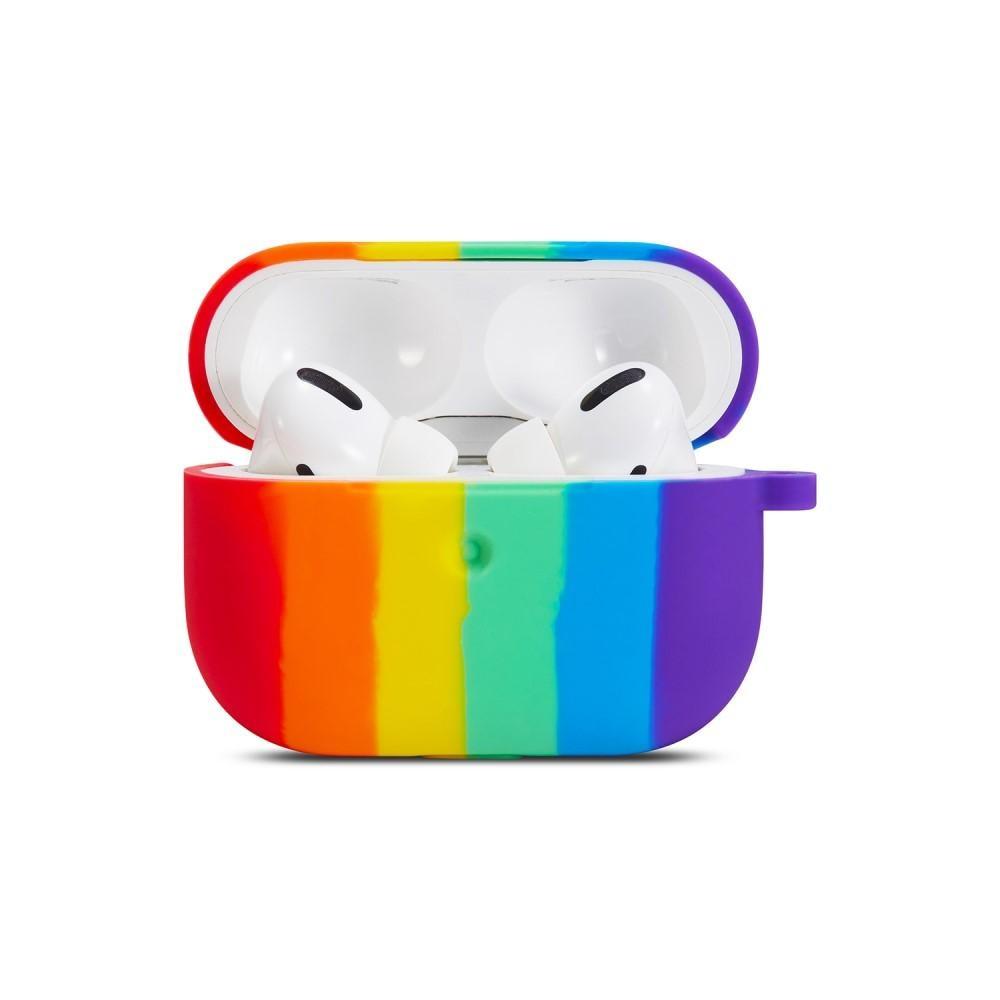 Silikonikotelo Apple AirPods Pro rainbow