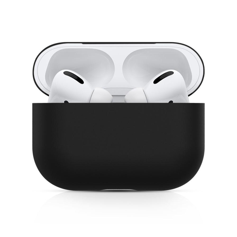 Silikonikotelo Apple AirPods Pro musta