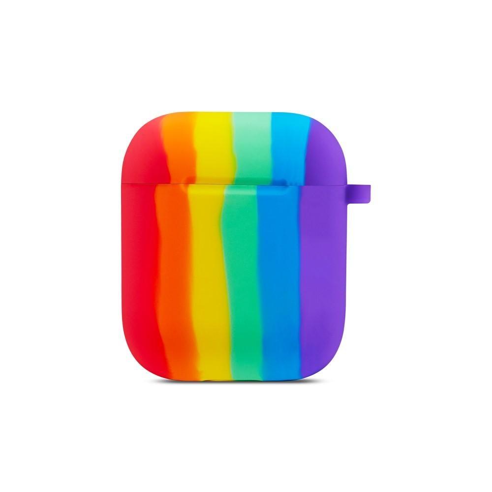 Silikonikotelo Apple AirPods rainbow