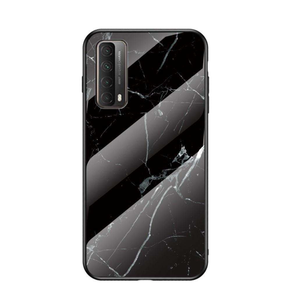 Panssarilasi Kuori Huawei P Smart 2021 musta marmori