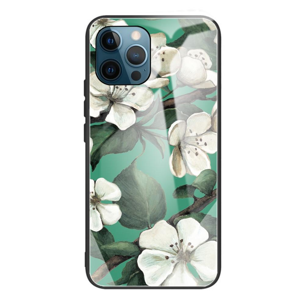 Panssarilasi Kuori iPhone 12 Pro Max kukat