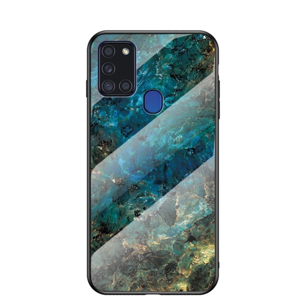 Panssarilasi Kuori Samsung Galaxy A21s emerald