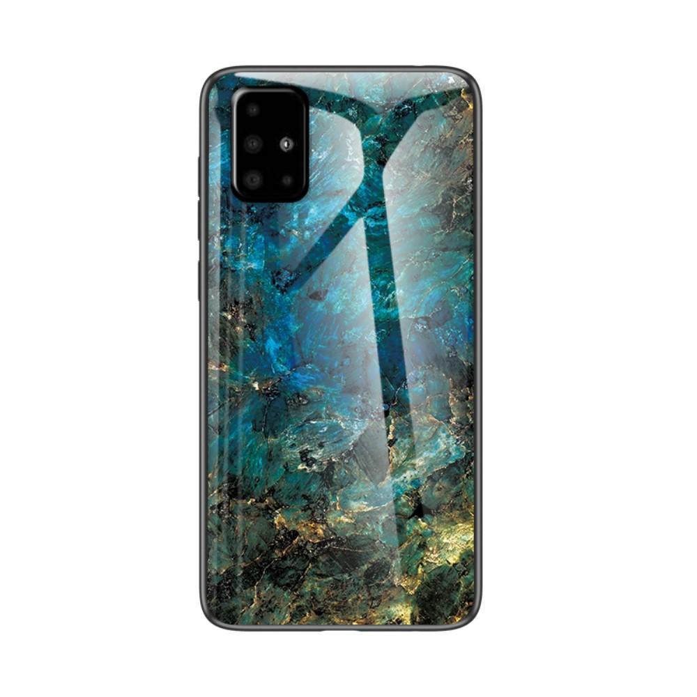 Panssarilasi Kuori Samsung Galaxy A51 emerald