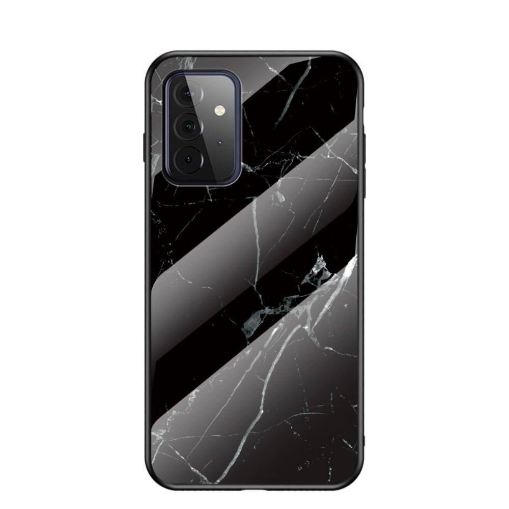 Panssarilasi Kuori Samsung Galaxy A72 5G musta marmori