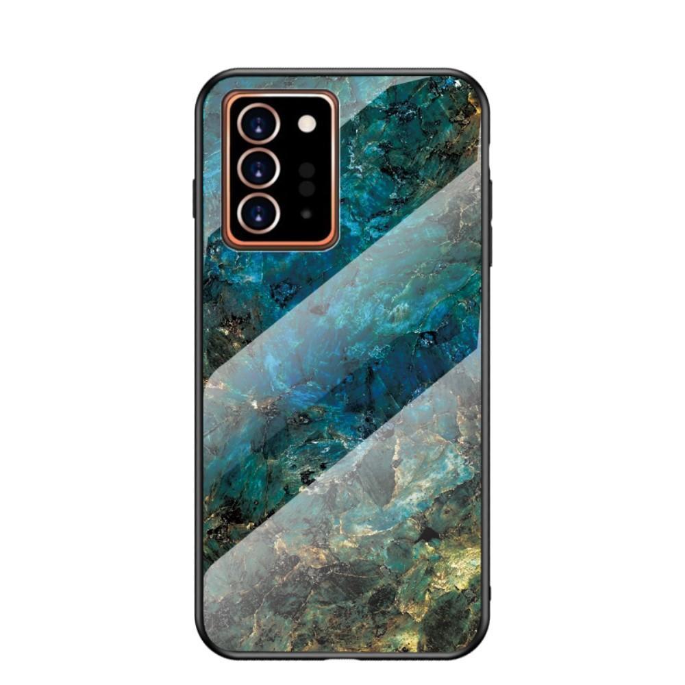 Panssarilasi Kuori Samsung Galaxy Note 20 Ultra emerald
