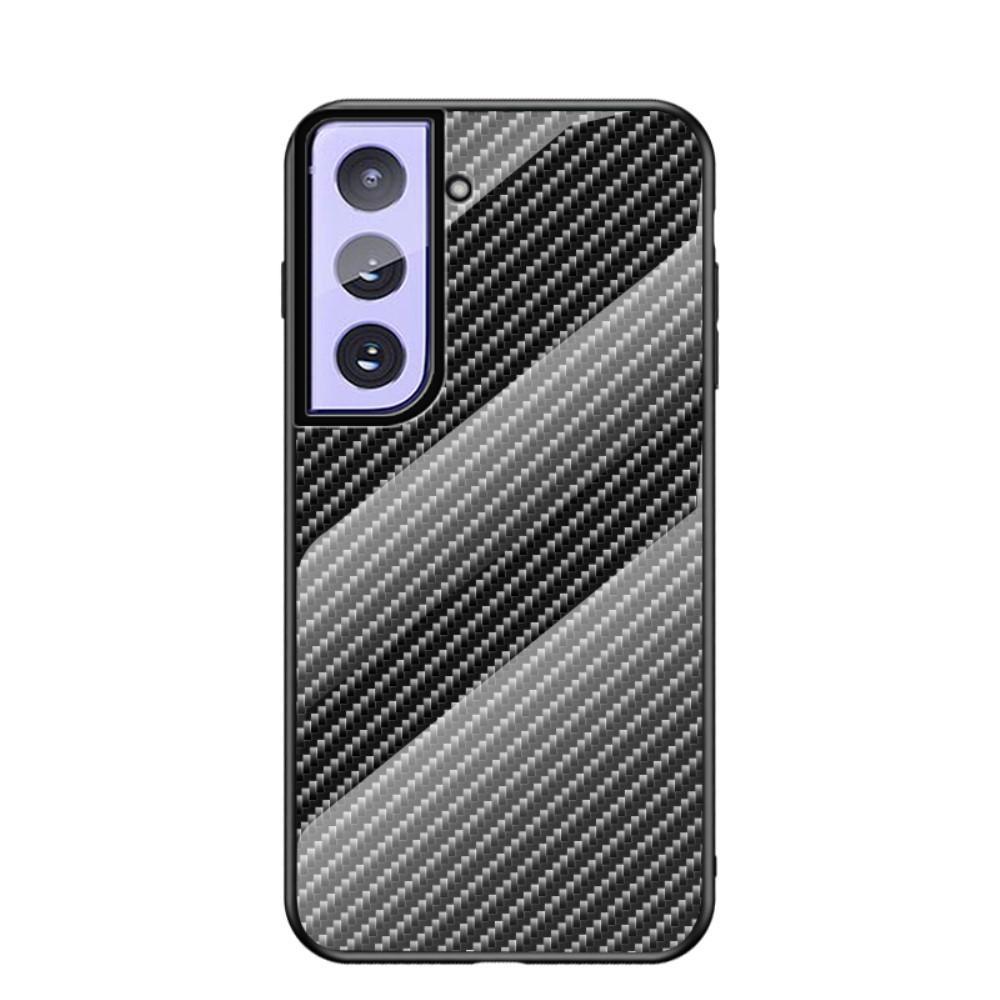 Panssarilasi Kuori Samsung Galaxy S21 Plus hiilikuitu
