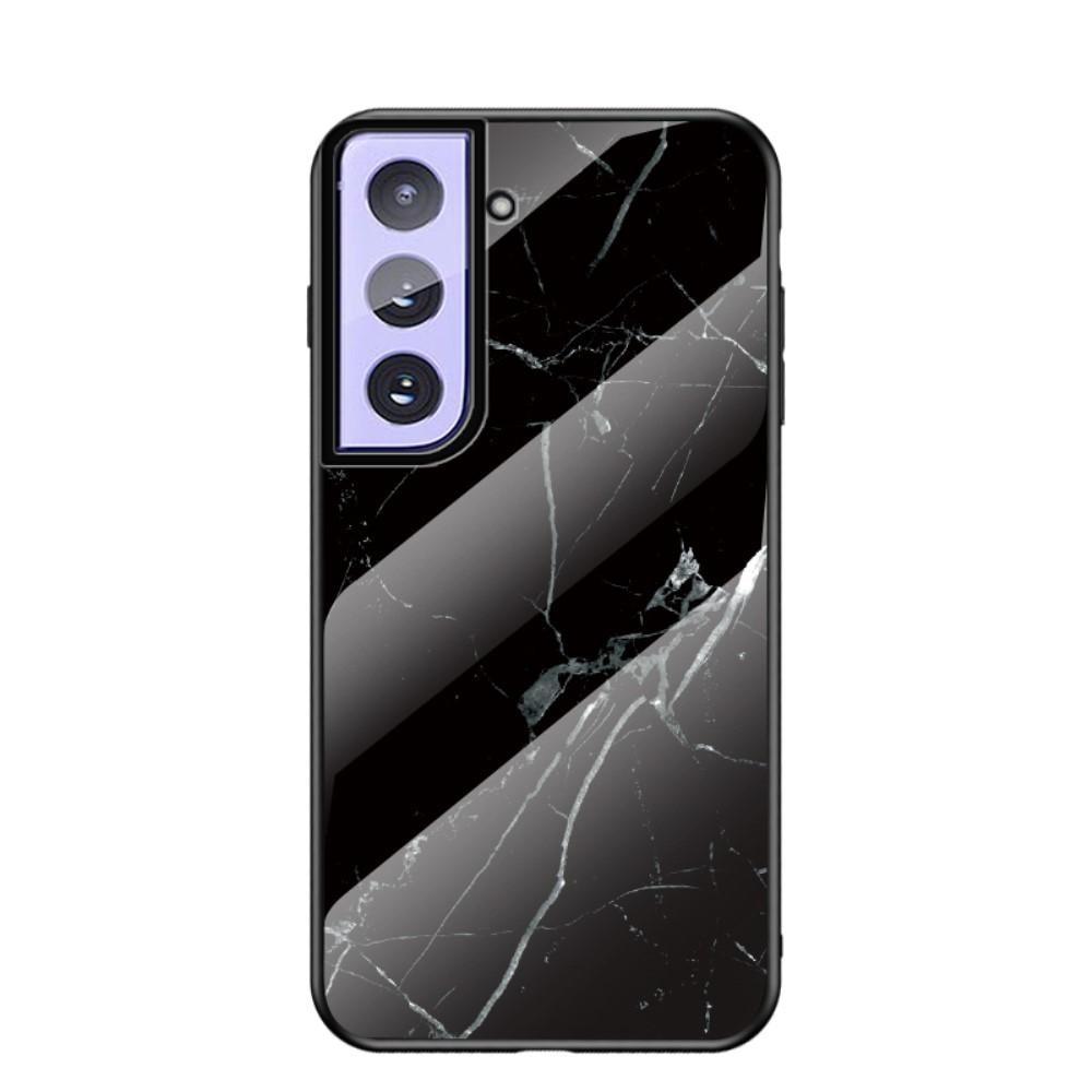 Panssarilasi Kuori Samsung Galaxy S21 Plus musta marmori
