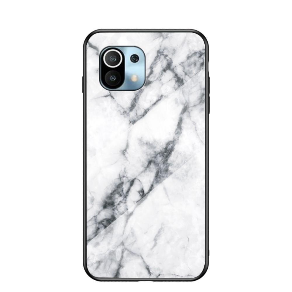 Panssarilasi Kuori Xiaomi Mi 11 valkoinen marmori