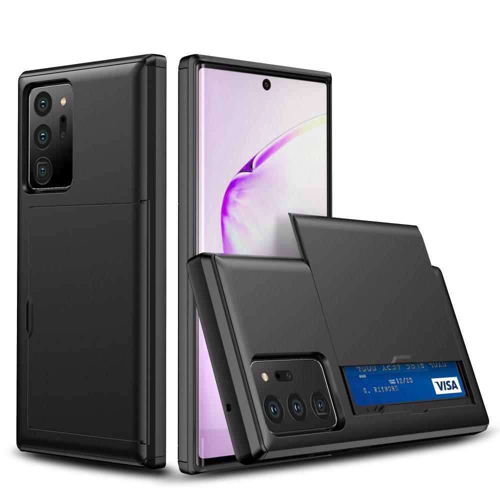Case Cardslot Samsung Galaxy Note 20 Ultra musta