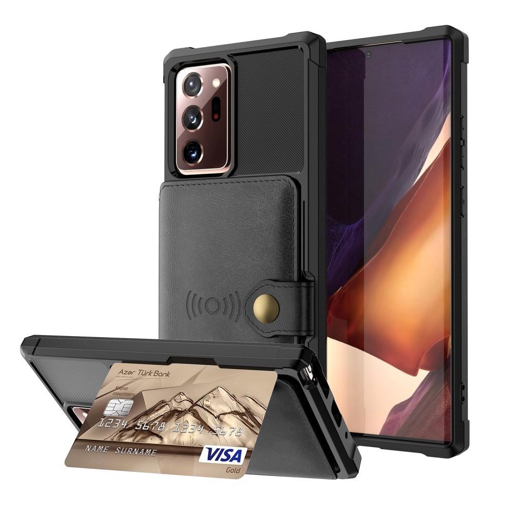 Tough Multi-slot Case Galaxy Note 20 Ultra musta