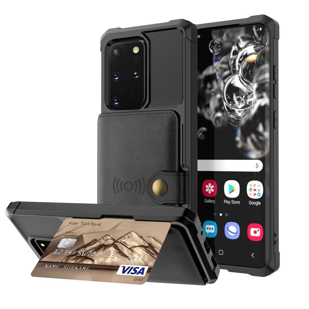 Tough Multi-slot Case Galaxy S20 Plus musta