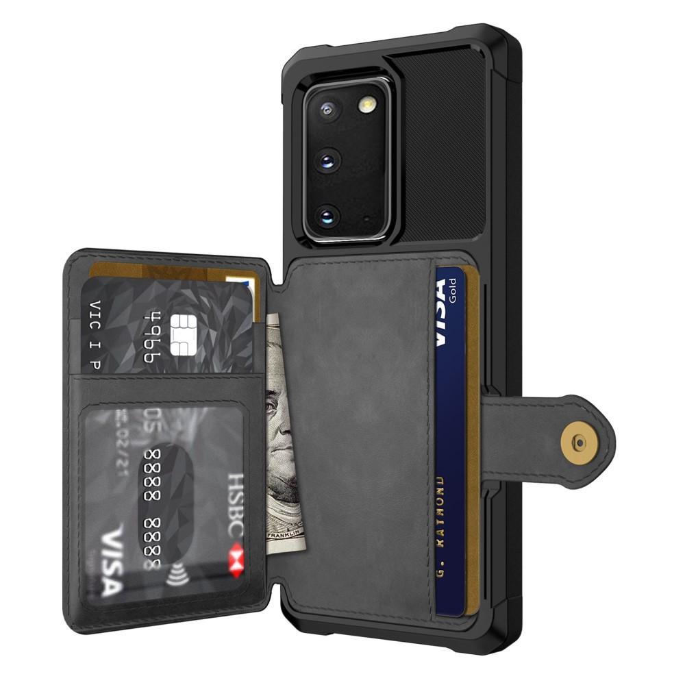 Tough Multi-slot Case Galaxy S20 musta