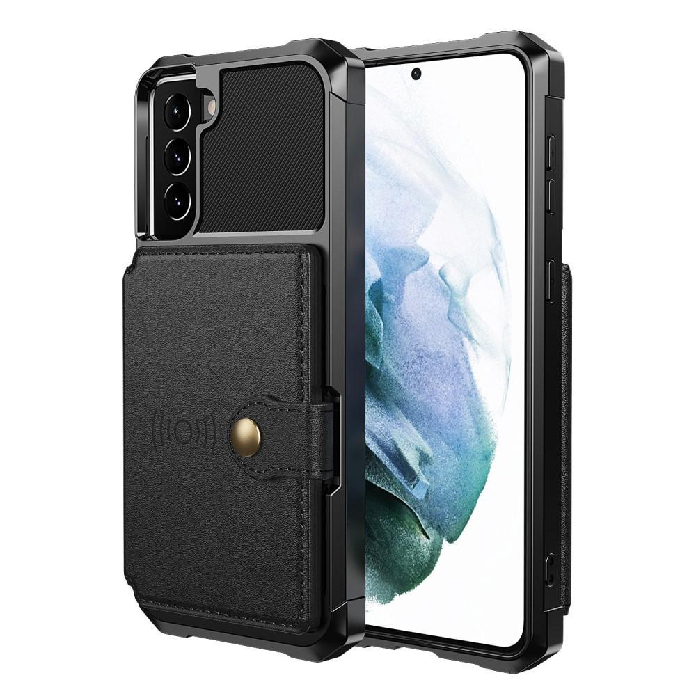 Tough Multi-slot Case Galaxy S21 Plus musta