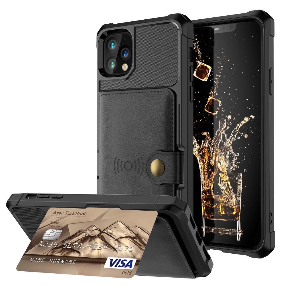 Tough Multi-slot Case iPhone 11 Pro musta