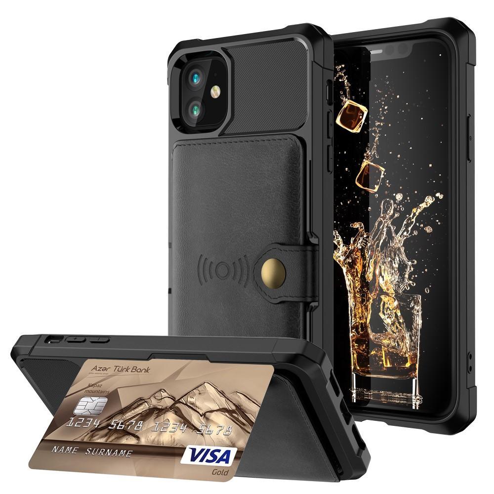 Tough Multi-slot Case iPhone 11 musta