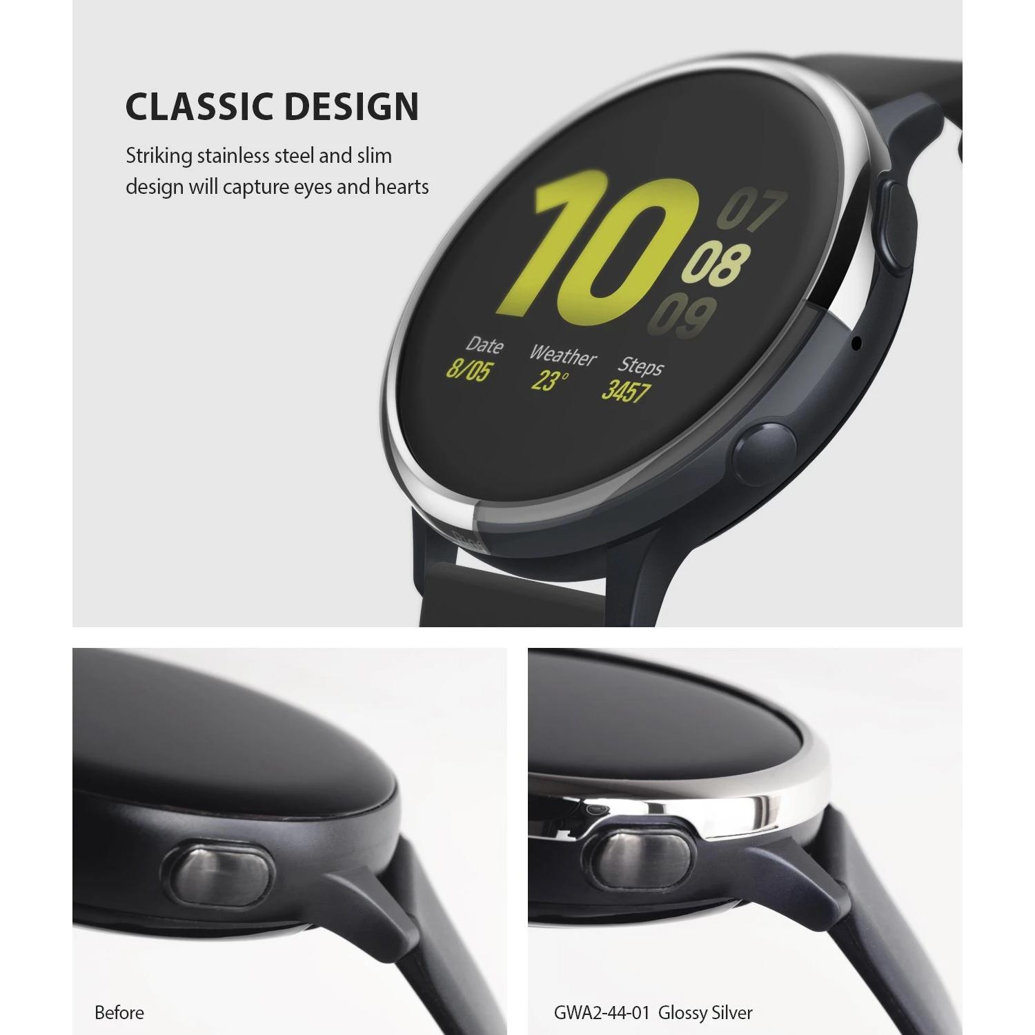 Bezel Styling Galaxy Active 2 44mm Silver