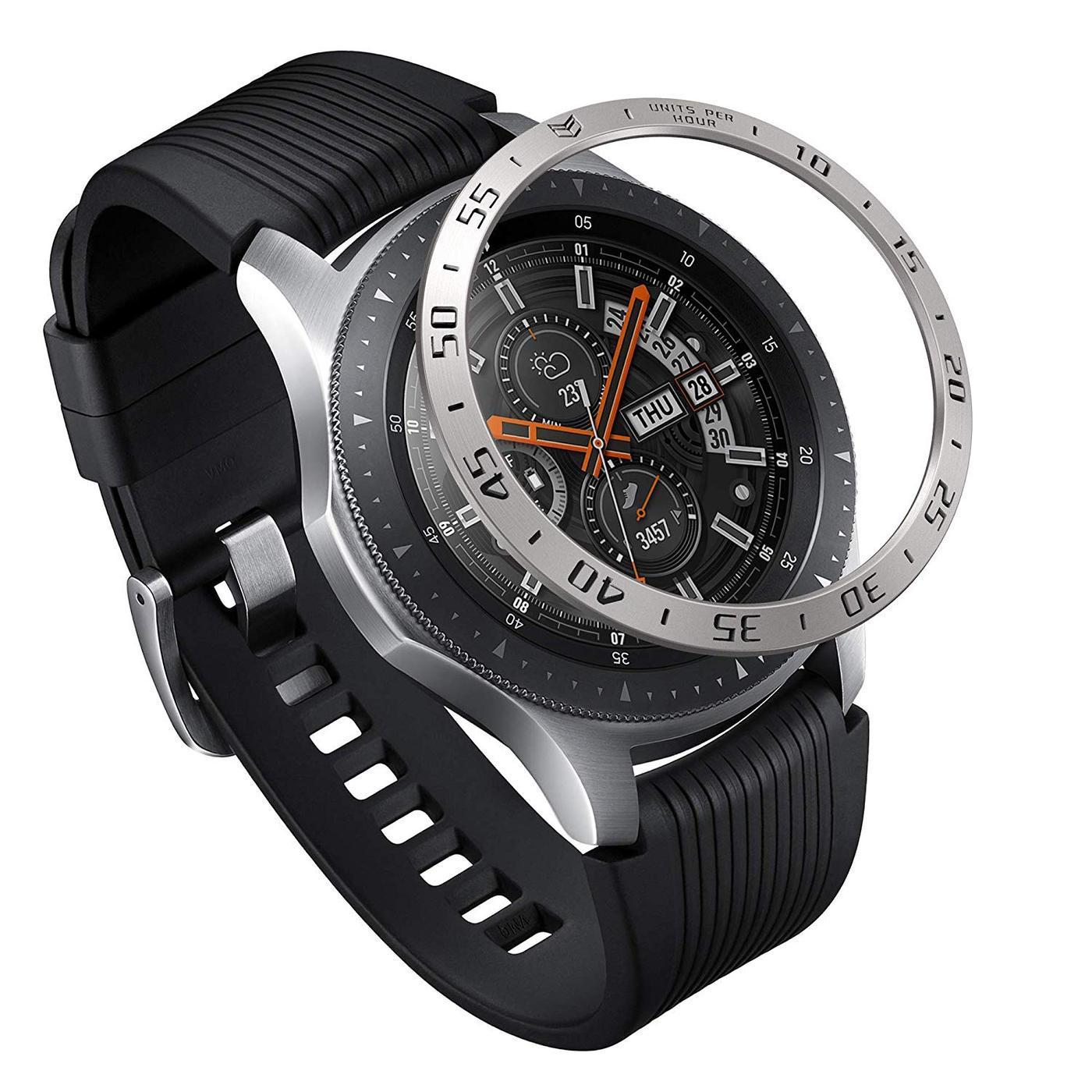 Bezel Styling Galaxy Watch 46mm/Gear S3 Silver