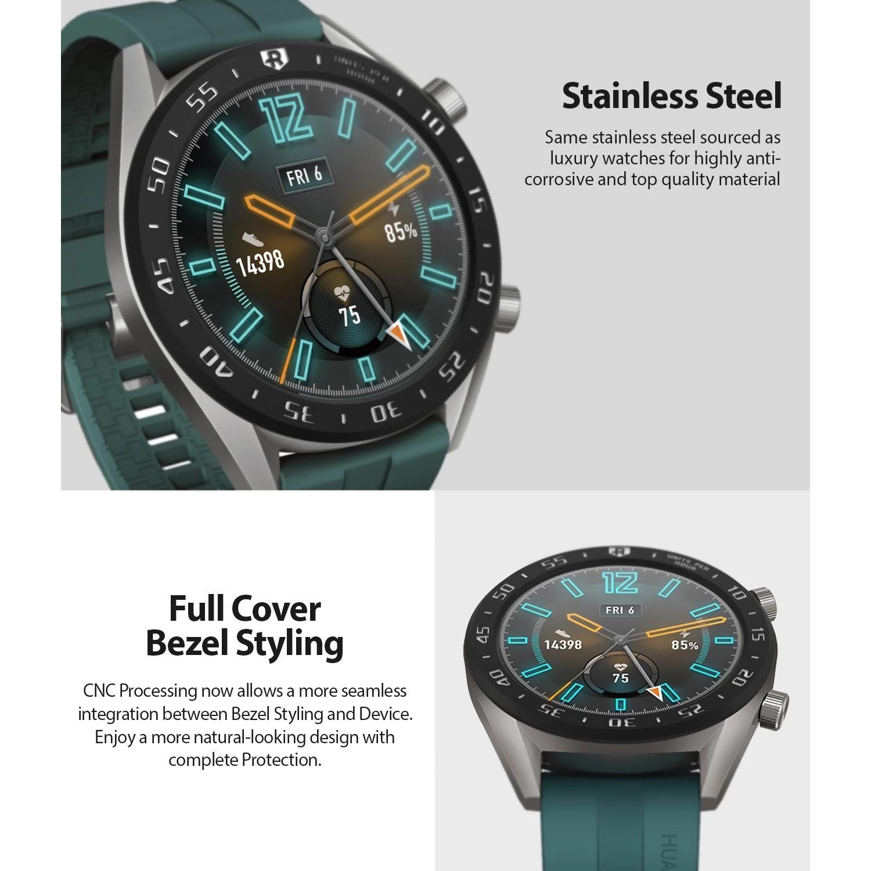Bezel Styling Huawei Watch GT Black