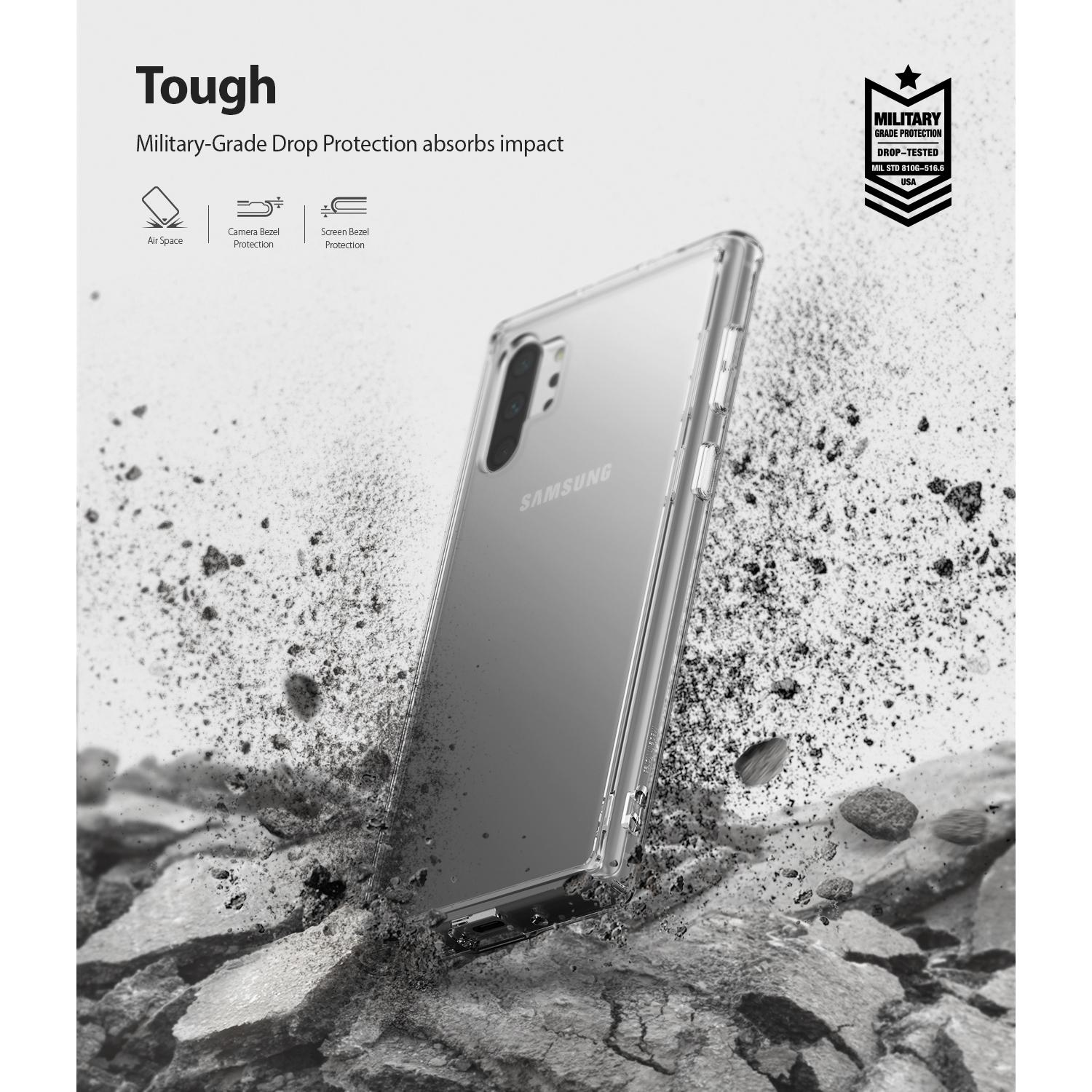 Fusion Case Galaxy Note 10 Plus Clear