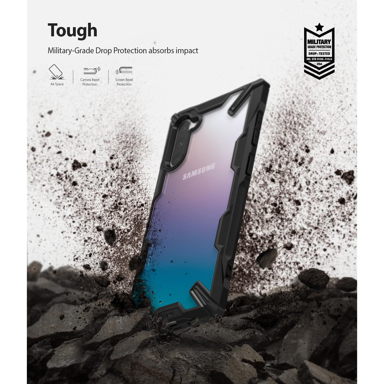 Fusion X Case Galaxy Note 10 Black