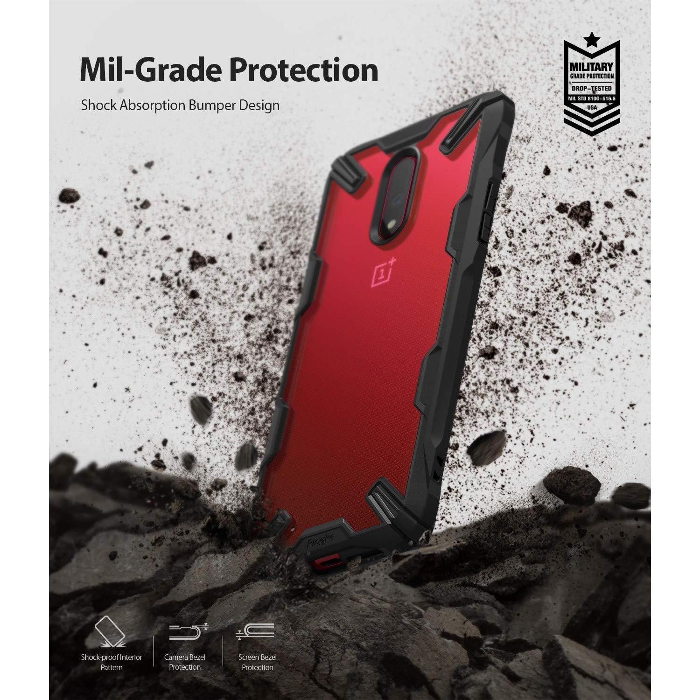 Fusion X Case OnePlus 7 Black