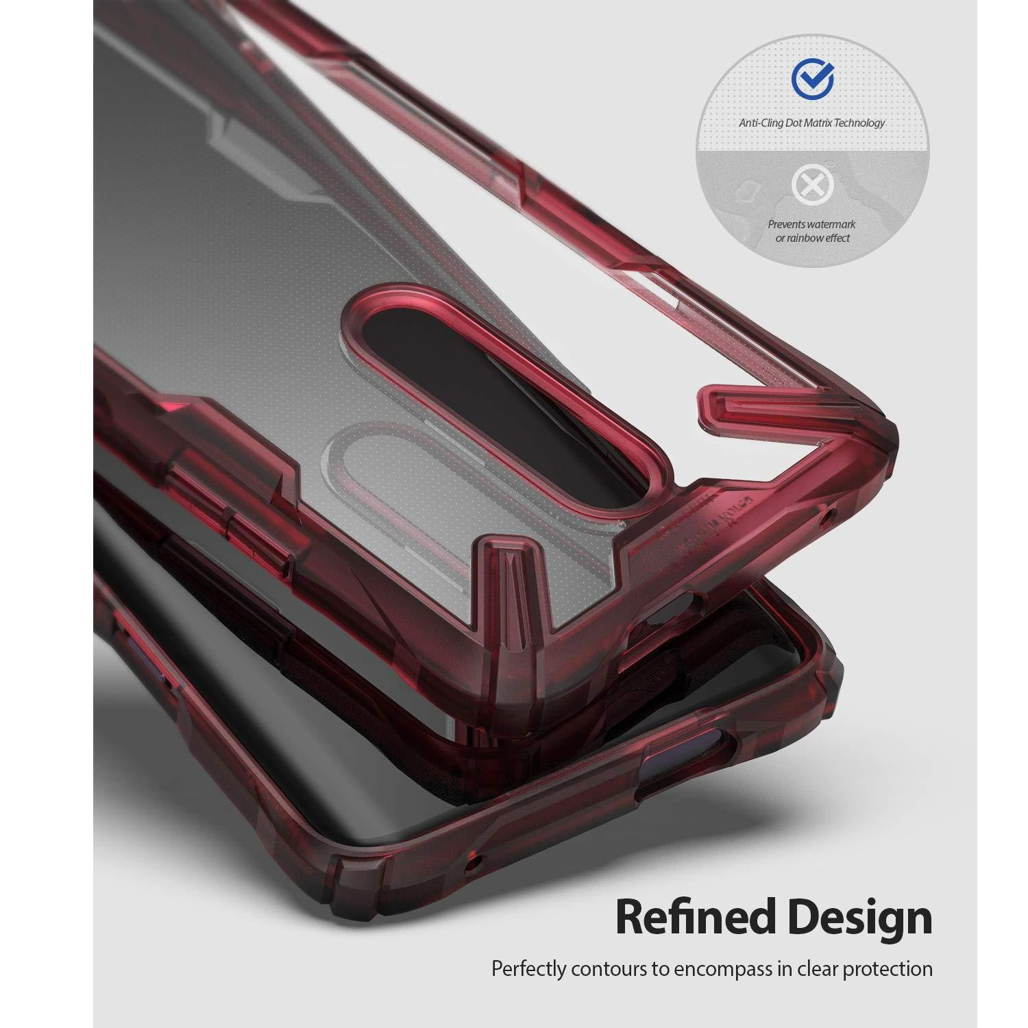 Fusion X Case OnePlus 7 Pro Ruby Red